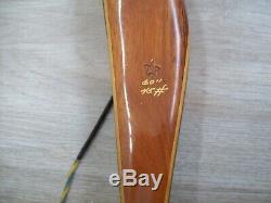 Beautiful Near Mint Vintage Bear Kodiak 45# Right Hand Recurve Bow