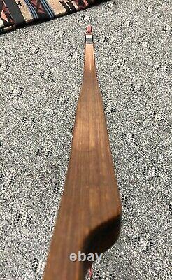 Black Widow Autumn Oak RH Recurve Bow TF III 60 46lb @28 withCarry Bag