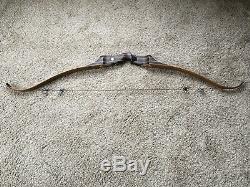 Black Widow PSA X Recurve Bow 60 50#@ 28 RH