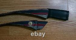 Black Widow PSR recurve bow, two-piece take down, 56 48# @26 right hand