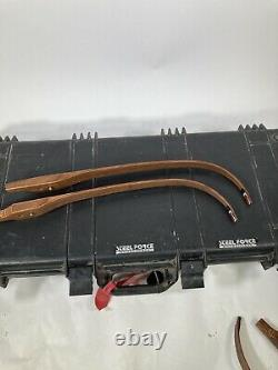 Black Widow Recurve Bow SA III 2 SETS OF LIMBS WithCASE