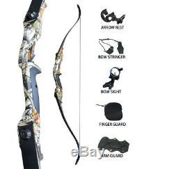 Bogenschießen 30lbs Recurve Bogen-Sets Jagd Ziel Outdoor Sport Praxis Practice
