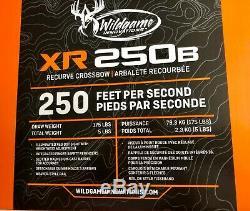 Brand New Barnett XR250B Recurve Crossbow Black 250 FPS Free Shipping