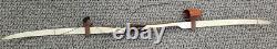 Collectible Howatt Yakima Monterey Recurve Bow, R/H, 40#@28, 62AMO, Hunting Qu