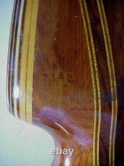 DRAKE Lakeside California VINTAGE 70 inch 45# LAMINATED Right Hand RECURVE BOW