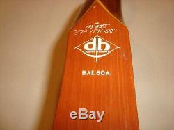 Damon Howatt BALBOA Glass Powered Recurve Bow HBA 1481-58, 45#@28 RH, withstring