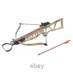 Doomsday Recurve Hunting Crossbow 120lb Draw CAMO Hunt Large Game Survival Tool