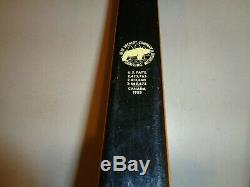 Early Vintage Bear CUB Recurve Bow TD361, 62 40#, Leather Grip, Grayling