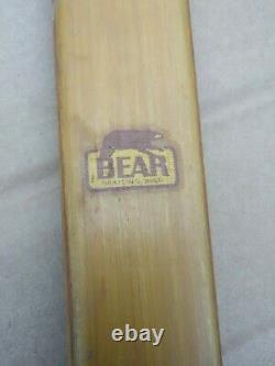 Early vintage original Bear Kodiak Static Recurve Bow