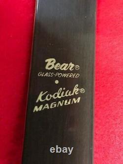 FRED BEAR KODIAK MAGNUM RECURVE BOW 52 52#, 60's VINTAGE, ONE OWNER
