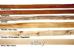 Flagella Dei Setscythian Recurve Horsebow, 12 Arrows, Armguard, Spare String
