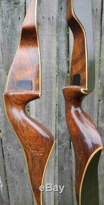Fred Bear Kodiak Hunter Recurve Bow Right Hand 33# Grayling 1968