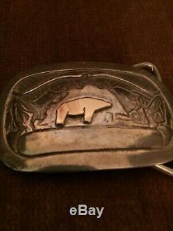 Fred Bear Original Belt Buckle