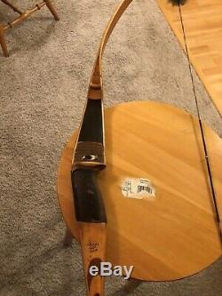 Fred Bear Recurve 1959 Grizzly 62AMO and 50# RH
