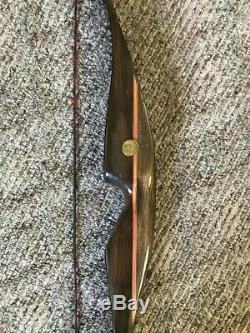 Fred Bear Super Grizzly Recurve Bow- 60lbs