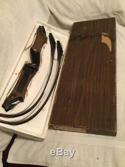 Fred Bear Take-down Recurve Bow In Original Box -handle B. Right Handed