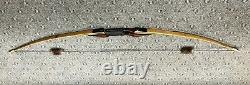 Great Plains Traditional Longbow RH Take-Down 55lb @28 62in AMO #7610 Bamboo