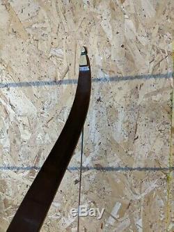 Groves Flame Hunter Groves Glass 38# @ 28 Draw 56 recurve bow nice rare