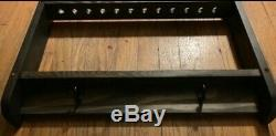 Hoyt Bow Rack Compound Bow Traditional Recurve Solid Wood Bowrack Walnut, Cedar