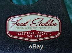 Hoyt Buffalo Recurve, #40, 62, RH, schwarz, Fred Eichler Edition