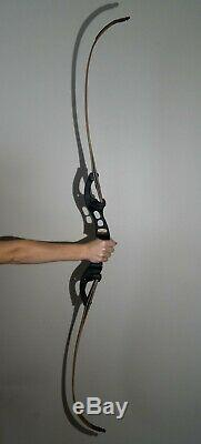 Hoyt Buffalo Recurve Bow 45lb Limbs Right-Handed Fred Eichler Signature Series