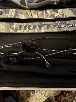 Hoyt Satori 17 RH Storm Riser with Medium RealTree Edge Camo Limbs 50 & 45 Limb