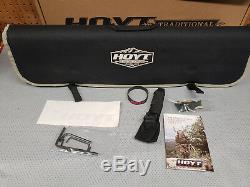 Hoyt Satori Recurve Bow 19 Riser RH Storm 2019