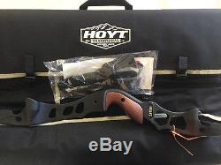 Hoyt Satori Recurve Bow 21 Black Riser Left Hand 2017 Limbs Available