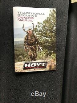Hoyt Satori Recurve Bow RH Amo66 50# @28
