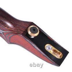 ILF Recurve Bow Riser 15 Wooden American Hunting Bow Archery Target Shooting