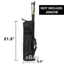 JEKOSEN Wooden Takedown Archery Recurve Bow 62 Hunting Bow Includ Arrows Quiver