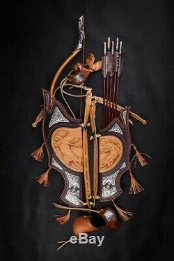 Longbow Bow Recurve Hunting Target Archery Traditional Mongolian