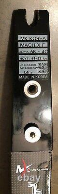MK Korea Formula Mach X High Modulus Carbon/Foam latten / limbs 68 40 lbs