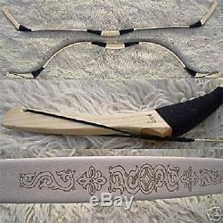 MONGOL RECURVE BOW WOLF II. 25-60# Kassai REITERBOGEN