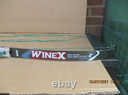 Merlin Classic Recurve Bow with W&W Winex Honeyfoam & Royal Cross Carbon Limbs