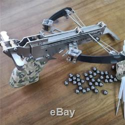 Mini Hunting crossbow Recurve Power Crossbow Stainless Steel Shooting Toy
