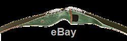 New 2015 Bear Archery Green Kodiak Magnum 45# Recurve Bow Package RH AKM1545R