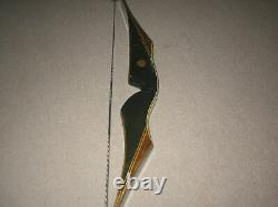 Nice 1969 Bear Super Kodiak Recurve Bow RH 35# Phenolic/Rosewood Rare 64