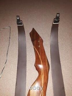 Nice JK Chastain Wapiti TD Carbon Glass Take Down Recurve Bow RH 56#