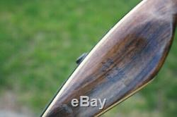 Nice LEFTY Vintage 1953 Bear Grizzly Recurve Bow KR74813 58 45# Glass Powered