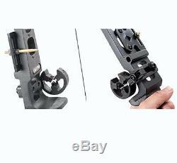 Obert Archery 40Lb Takedown Recurve Bow Hunting Fishing Target Practice RH Black