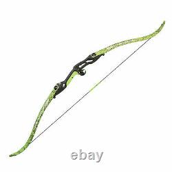 PSE Kingfisher Bowfishing Recurve Bow Flo Green DK'd Camo 56 Right Hand