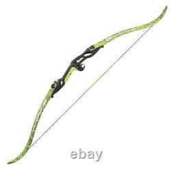 PSE Kingfisher Pkg Flo Green Bowfishing Recurve bow Pkg 56-45