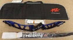PSE Theory FX Competition Recurve 66 RH withFree Bow Case Green 32#