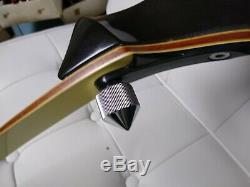 Presentation ll wing recurve bow 64 25#. 68 23# la468