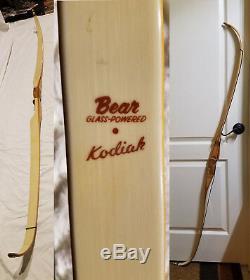 RARE-Vintage Bear 1958 Kodiak Recurve -75lb