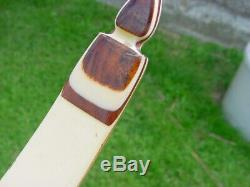 RARE-WING ARCHERY CO GULL RH RECURVE BOW 64 IN. 28 #SUPER CLEAN/ no holes
