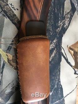 RH-Toelke Lynx 3 Piece Longbow with 2 sets of Limbs-Custom Case-Howard Hill Grip