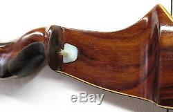 RH Vintage Herters Perfection Sitka Rosewood Recurve Hunting Bow 46 lbs 58