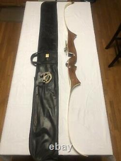 Rare! Stunning Vintage Browning Challenge Recurve Archery Bow 70 33# With Case